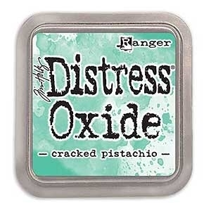 Tim Holtz Distress Oxide Ink Pad: Cracked Pistachio