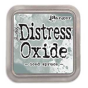 Tim Holtz Distress Oxide Ink Pad: Iced Spruce