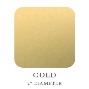 "2"" Square Gold Foil Paper Seals"