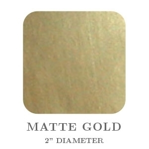 "2"" Square Matte Gold Embossing Seals"