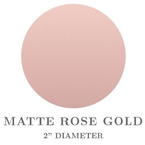 Matte Rose Gold Embossing Seals