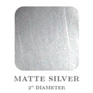"Picture of 2"" Square Matte Silver Embossing Seals"