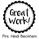 Picture of Beckham Teacher Stamp