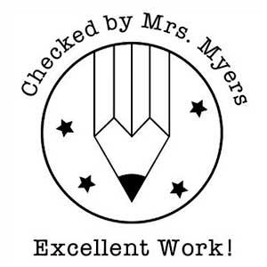 Myers Teacher Stamp
