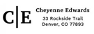 Picture of Cheyenne Rectangular Address Stamp