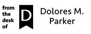 Dolores Rectangular Social Stamp