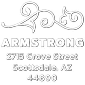 Armstrong Address Embosser