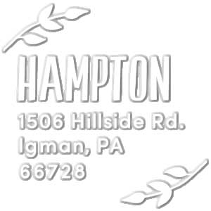 Hampton Address Embosser