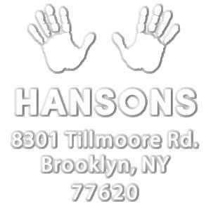 Hanson Address Embosser