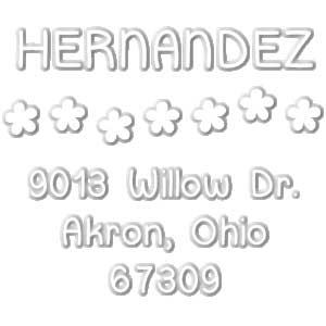 Hernandez Address Embosser