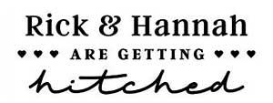 Rick Rectangular Wedding Stamp