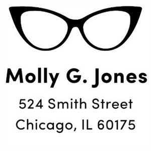 Molly Address Stamp