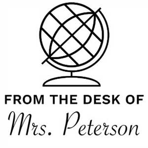 Peterson Teacher Stamp