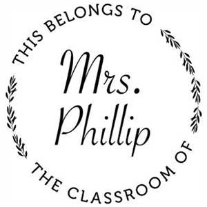 Phillip Teacher Stamp