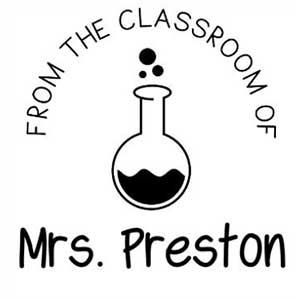 Preston Teacher Stamp