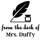 Picture of Duffy Teacher Stamp