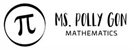 Picture of Pollygon Rectangular Teacher Stamp