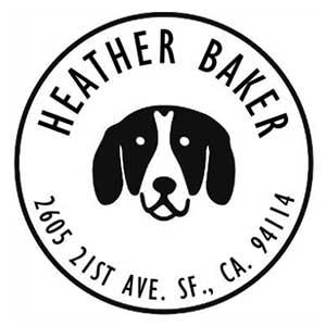 Baker Address Stamp