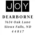 Picture of Dearborne Holiday Stamp