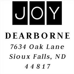 Dearborne Holiday Stamp