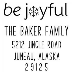 Joyful Holiday Stamp