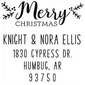 Knight Holiday Stamp