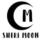 Moon Wood Mounted Monogram Stamp