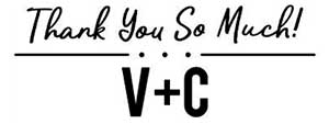 Vicki Rectangular Wedding Stamp
