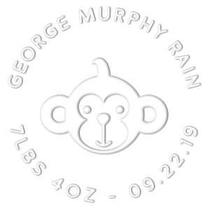George Birth Announcement Embosser