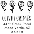Picture of Grimes Address Stamp