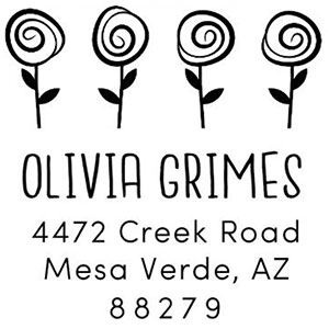 Grimes Address Stamp