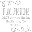 Picture of Thornton Address Embosser