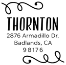 Picture of Thornton Address Stamp