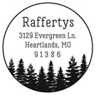 Picture of Rafferty Address Stamp