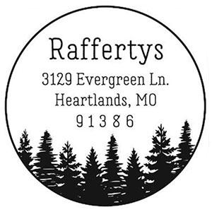 Rafferty Address Stamp