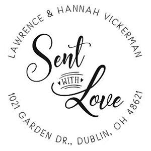 Hannah Address Stamp