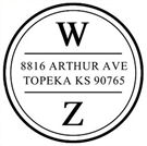 Picture of Warren Address Stamp