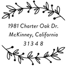 Picture of McKinney Address Stamp