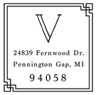 Picture of Ventura Address Stamp