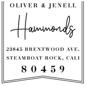Hammond Address Stamp
