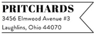 Picture of Prichard Rectangular Address Stamp