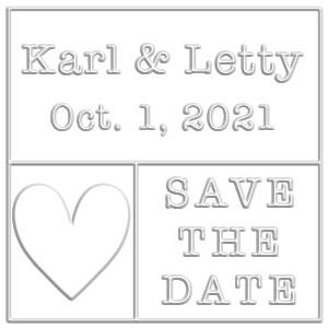 Letty Wedding Embosser